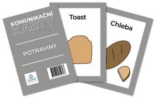 Komunikační karty Potraviny - Staněk Martin [Karty]
